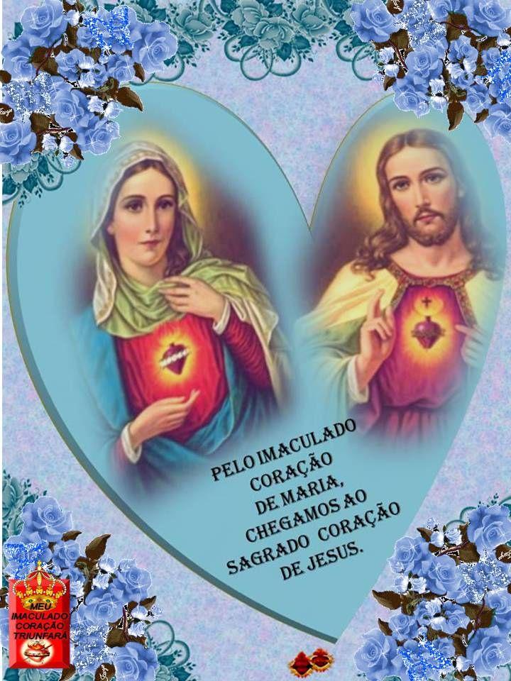 Slide118 | Flickr - Photo Sharing! Pelo Imaculado Coração de Maria, chegamos ao Sagrado Coração de Jesus.