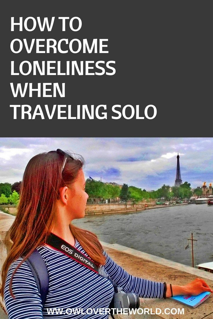 Solo traveling can be an amazing adventure and life changing experience. It's true that although all the great things you experience when traveling alone you can also feel lonely sometimes. That's why