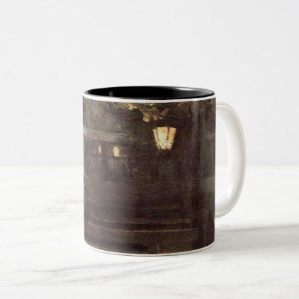 In the Spanish tavern 1888 Konstantin Alekseevich Two-Tone Coffee Mug - coffee custom unique special