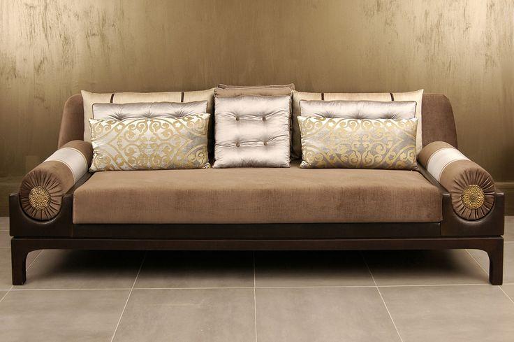 Deniz Tun Bolsters Sofa Leather Furniture Seating
