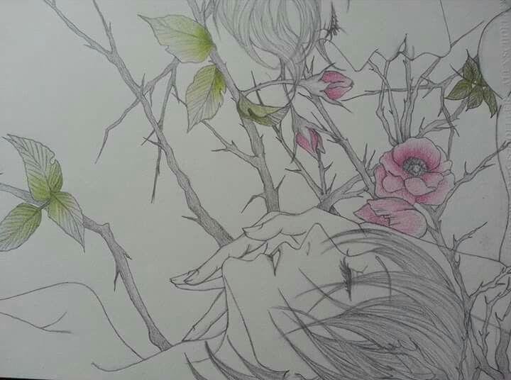 I love drawing love...