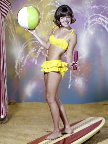 """Adorable Sally Field as """"Gidget"""" - 1960s fun in the midst of pure chaos."""