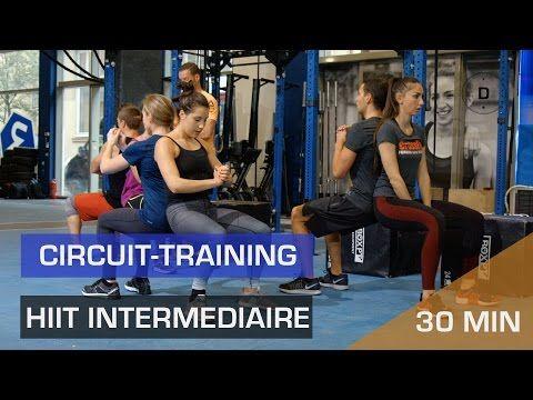 HIIT Intermédiaire - Circuit training - YouTube