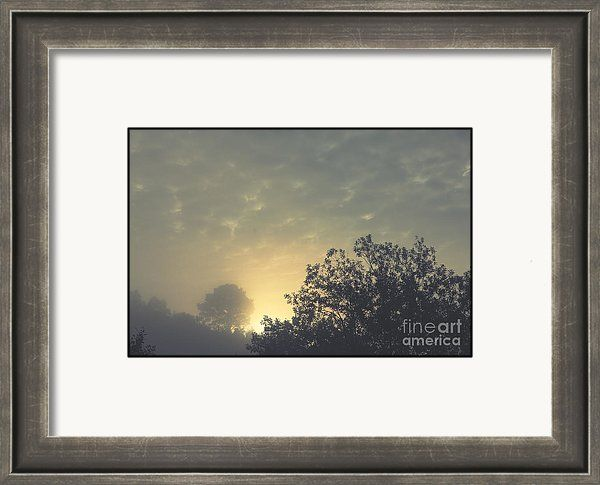 Daybreak Framed Print featuring the photograph Daybreak by Sverre Andreas Fekjan