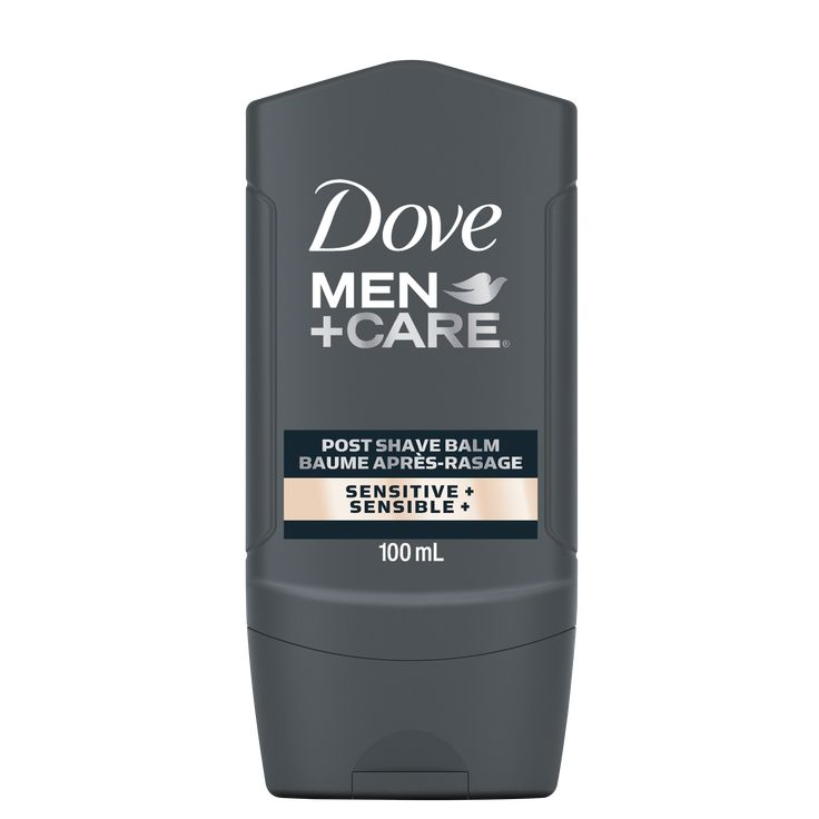 Shaving can be especially tough on your skin if it's sensitive. Keep your skin smooth and hydrated post shave with Dove Dove Men+Care Post Shave Balm - Sensitive+ 100mL