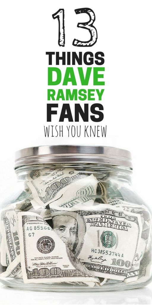 13 Things Dave Ramsey Baby Steps Fans Wish You Knew | A humorous and heartfelt look at 13 things Dave Ramsey fans wish you knew, like why we're driving a hoop-dee! #budgeting #beansandrice