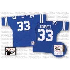 Mitchell And Ness Dallas Cowboys #33 Tony Dorsett Blue Replica Throwback Jersey