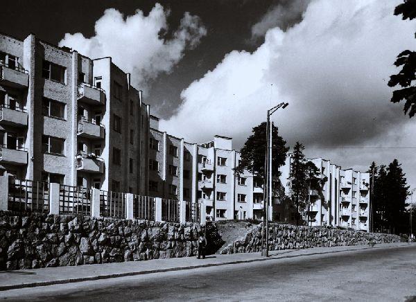 Docomomo - Käärmetalo - Serpentine House apartment building