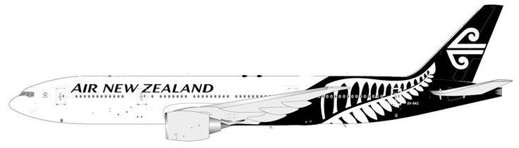 1/200 JC Wings Air New Zealand Boeing 777-200ER