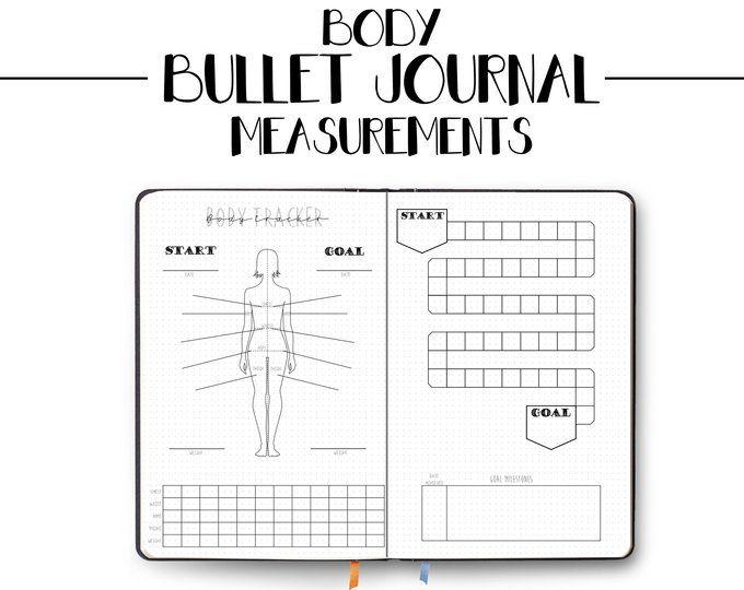 Bullet Journal Bookshelf Books Reading Printable | Etsy