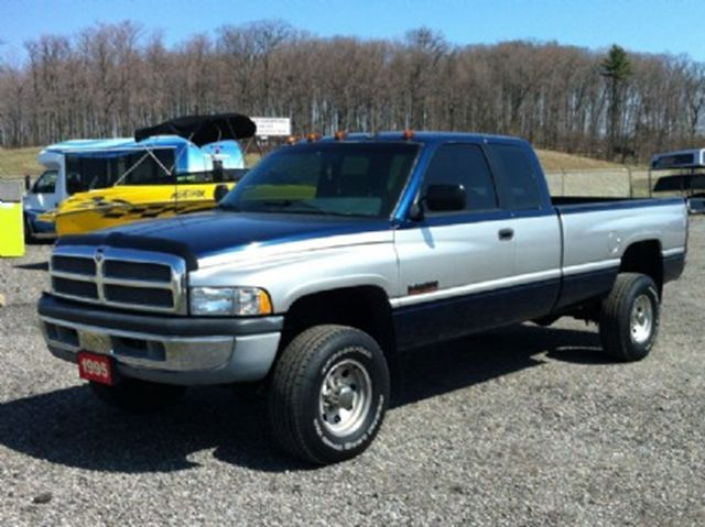Silver Blue Two Tone Dodge Ram 2500 Lifted Truck Dodge