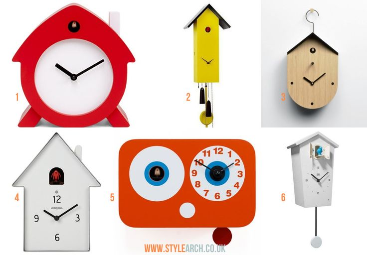 Going cuckoo for cuckoo clocks | Style Arch | Modern Contemporary cuckoo clocks