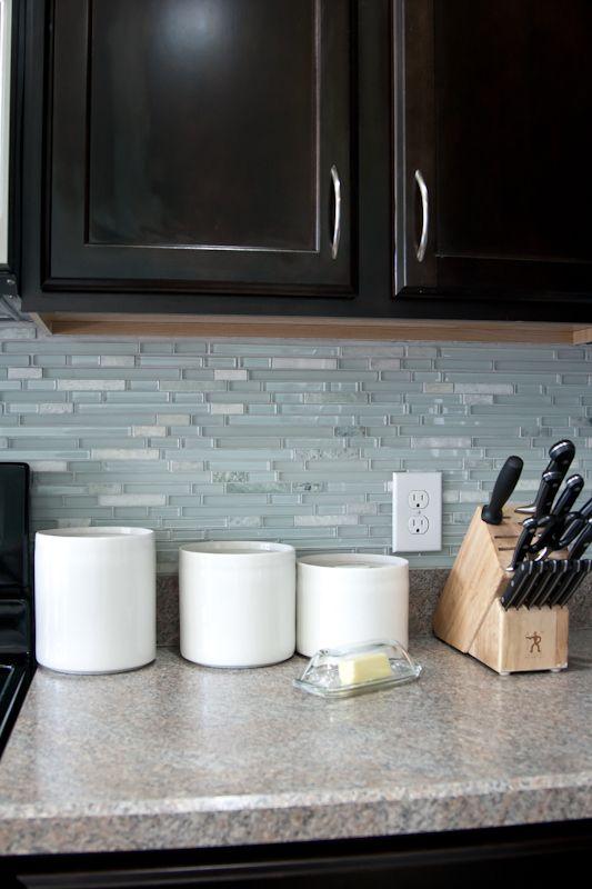 Backsplash Is DONE! Mosaic Wall TilesBacksplash TileBacksplash IdeasMosaics Kitchen ...