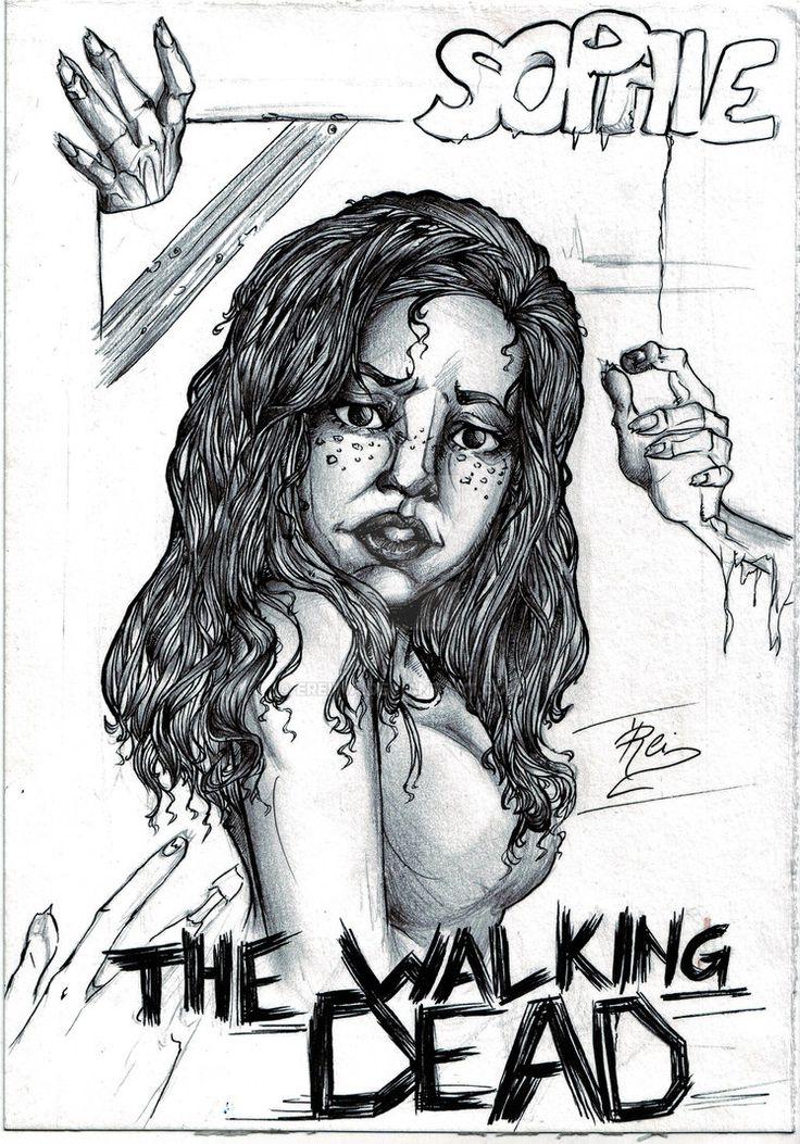 THE WALKING DEAD - Sophie by eREIina on DeviantArt