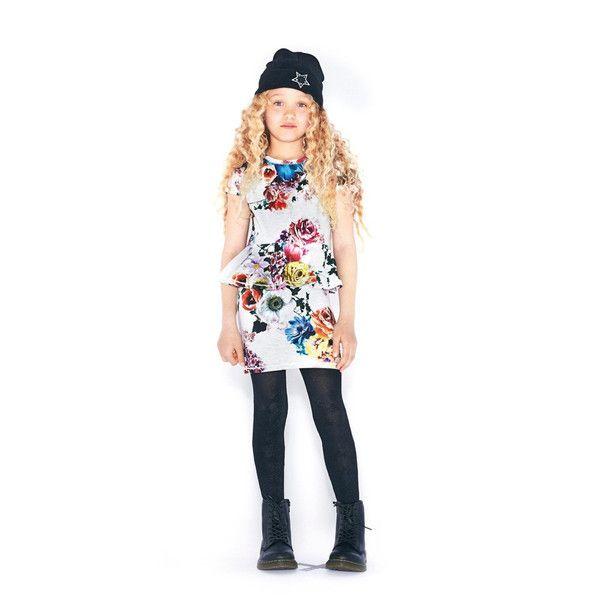 Molo Christina Floral Peplum Dress