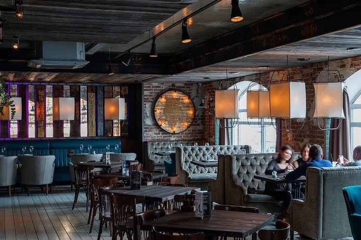 Ф И Л И Н - Лучший интерьер ресторана, кафе или бара   PINWIN - конкурсы для архитекторов, дизайнеров, декораторов