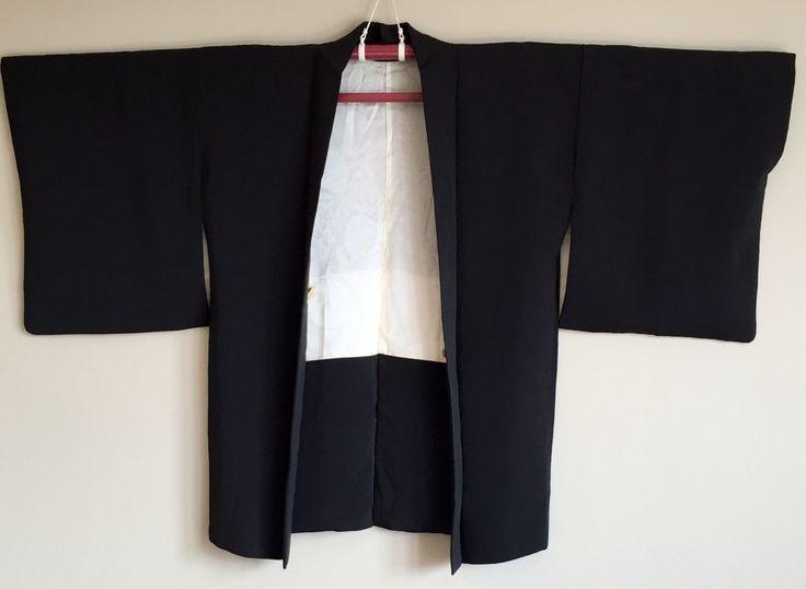 A personal favourite from my Etsy shop https://www.etsy.com/au/listing/477877997/1950s-black-haori-kimono-jacket-boho