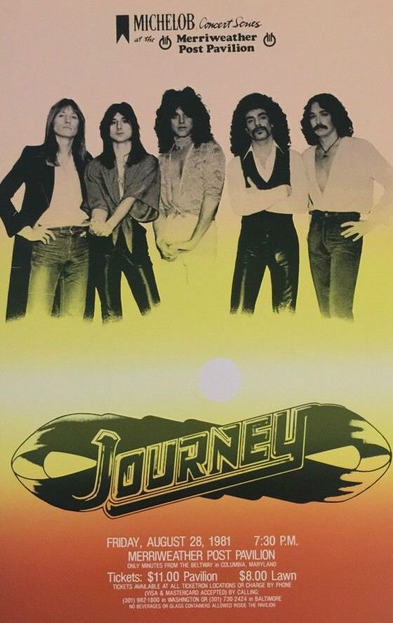 Journey Concert Poster https://www.facebook.com/FromTheWaybackMachine/