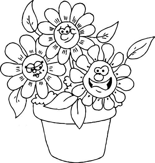 popular flowers coloring pages   kinder für malvorlagen in