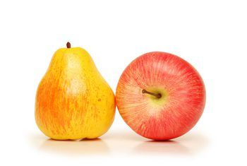 pear and apple isolated on white image by Elnur from Fotolia.com