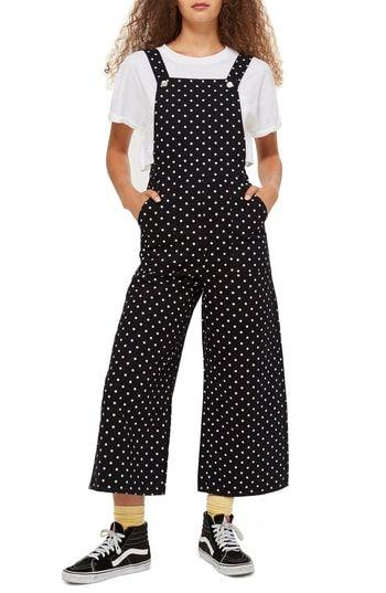 b3a3bc26d022 Topshop Polka Dot Jumpsuit