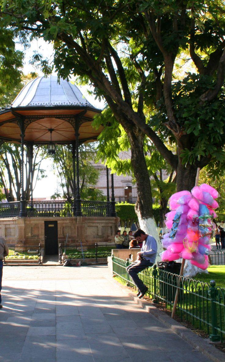 Quiosco plaza armas, Morelia