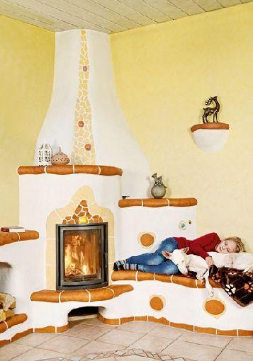Homeplaza - Kunstvoll gestaltete Kachelöfen verzaubern das Zuhause - Für das persönliche Wohlgefühl