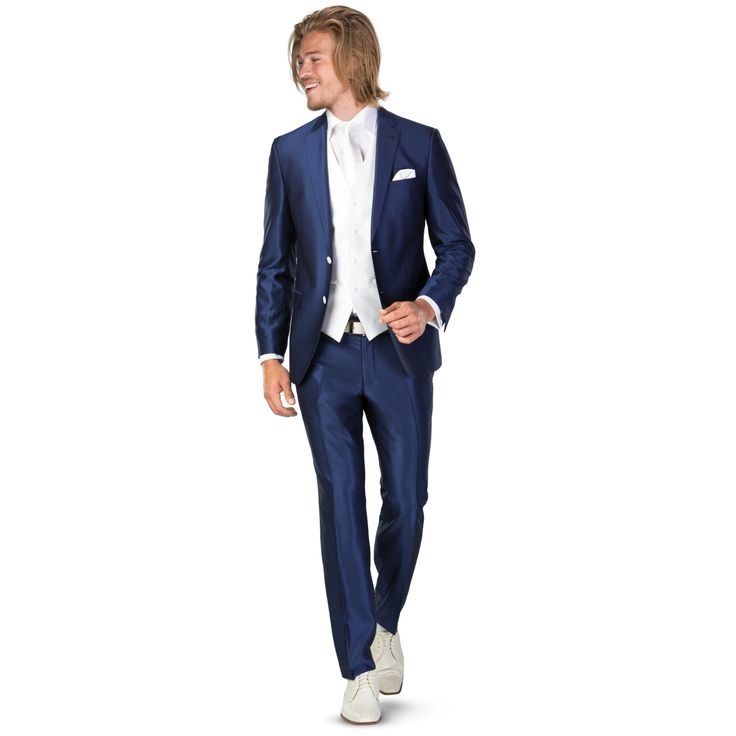alexander alesi pak 2-delig 4485-40 finn kobalt - Mode voor mannen die gaan trouwen ROKA