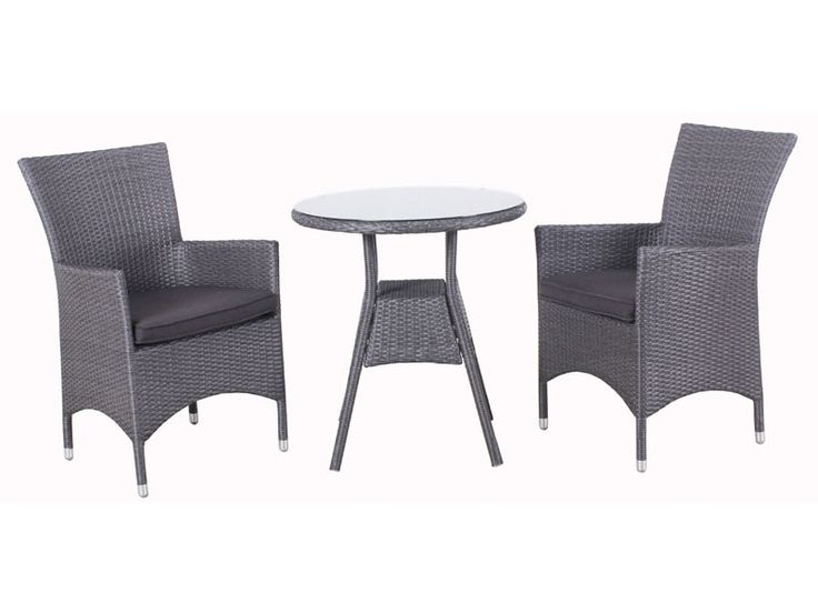 Outdoor Furniture - Jardine Tub 3 piece setting - robcousens Outdoor Furniture Factory direct