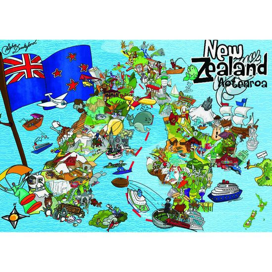 Image result for map of aotearoa