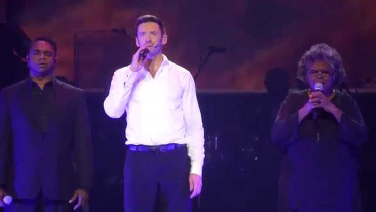 Hugh Jackman - Somewhere Over The Rainbow (Broadway To Oz) 26/11/15 Rod Laver Arena - YouTube