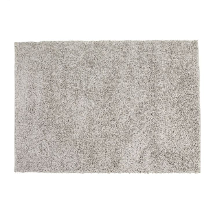 Tapis gris 120x170cm gris domino les tapis textiles et tapis salon et salle manger - Ikea tapijt salon ...