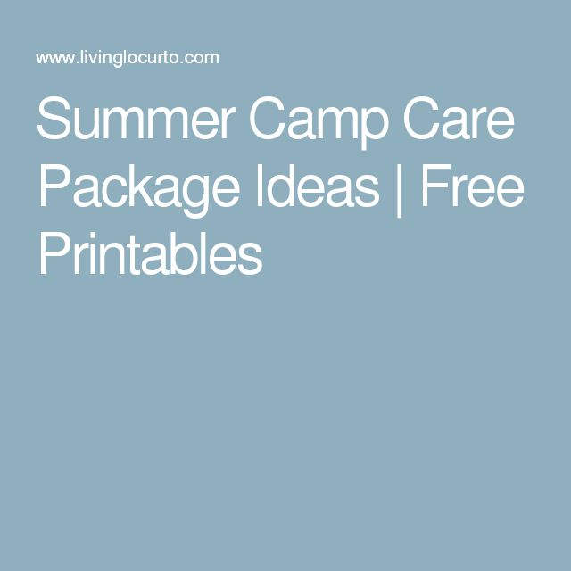 Unique Camp Care Packages Ideas On   Football