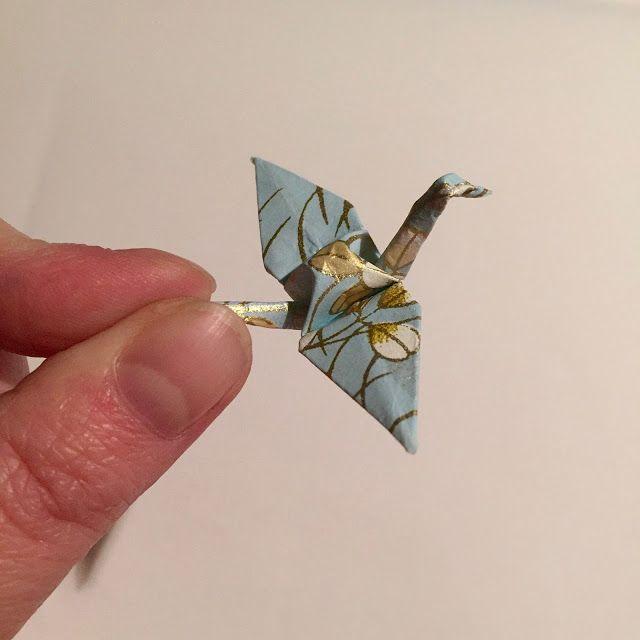 #Origami #Kranich #Crane knightlyart - Made in Hamburg: #sonntagsglück mit Origami