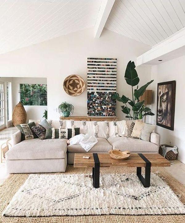 Shop The Look Summer Living Room Decor Colour Ideas Boho Living