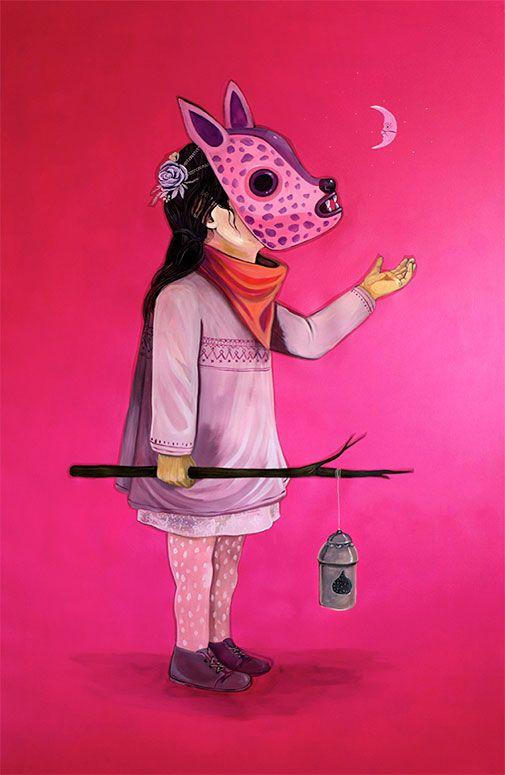 Juxtapoz Magazine - Saner: In a Dream (En un Sueño)