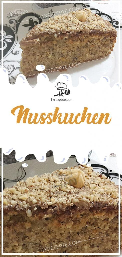 Nusskuchen – Liane Müller