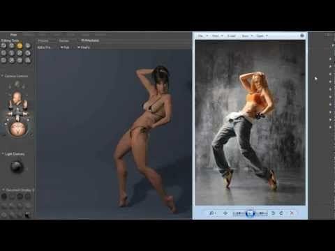 Poser Webinar : Artistic Posing Techniques for 3D Human Figures