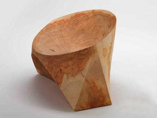 Modern Log Furniture Adding Chic Eco Friendly Products to Interior Design and Decor