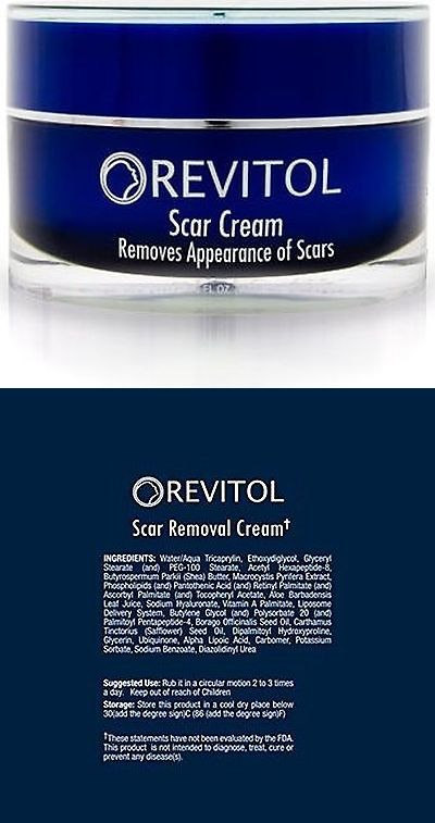 Scar and Stretch Mark Reducers: Revitol Scar Removal Cream Remove Scars Acne Scars Treatment, New -> BUY IT NOW ONLY: $91.99 on eBay!