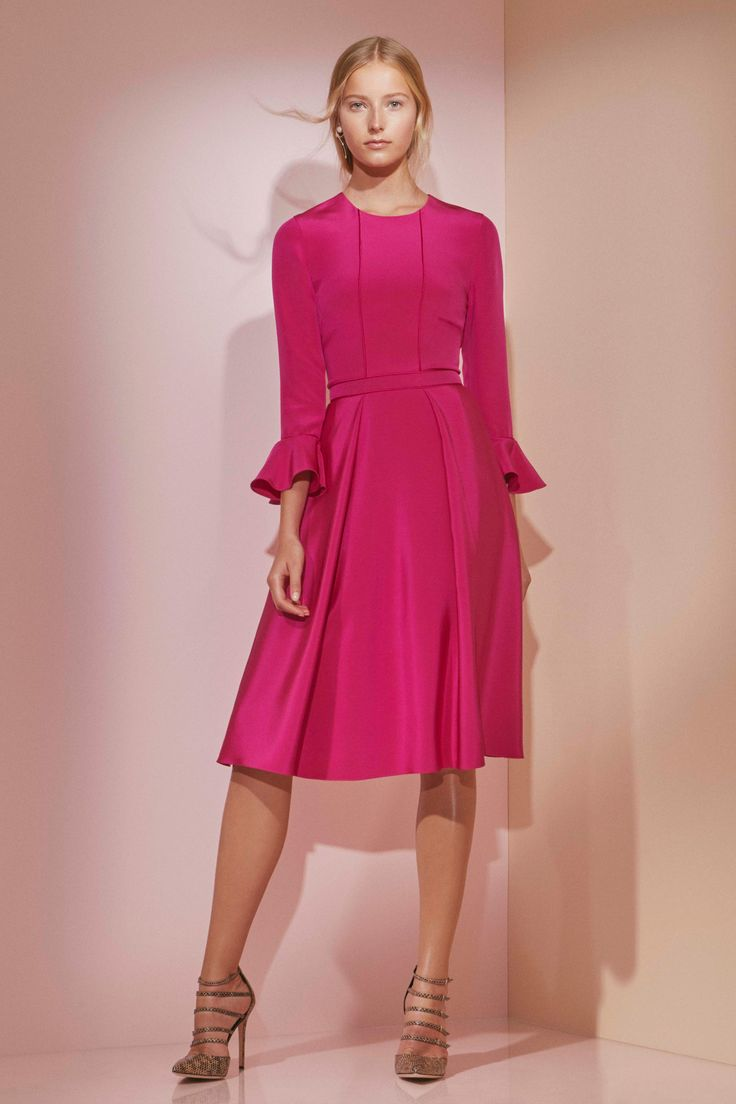 "Prabal Gurung Pre-Fall 2016 Fashion Show. Modest doesn't mean frumpy. For more Fashion Tips (and a free eBook): http://eepurl.com/4jcGX Do your clothing choices, manners, and poise portray the image you want to send? ""Dress how you wish to be dealt with!"" (E. Jean) http://www.colleenhammond.com/"