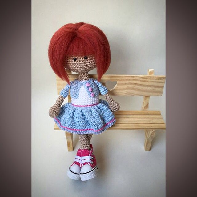 Amigurumi inspiration (cute outfit!)