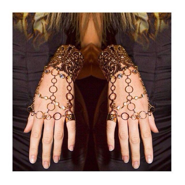 Balyck Hand pieces #gold #handpiece #jewellery #design
