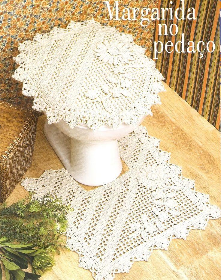 11 best Mesas images on Pinterest | Doilies crochet, Crochet carpet ...