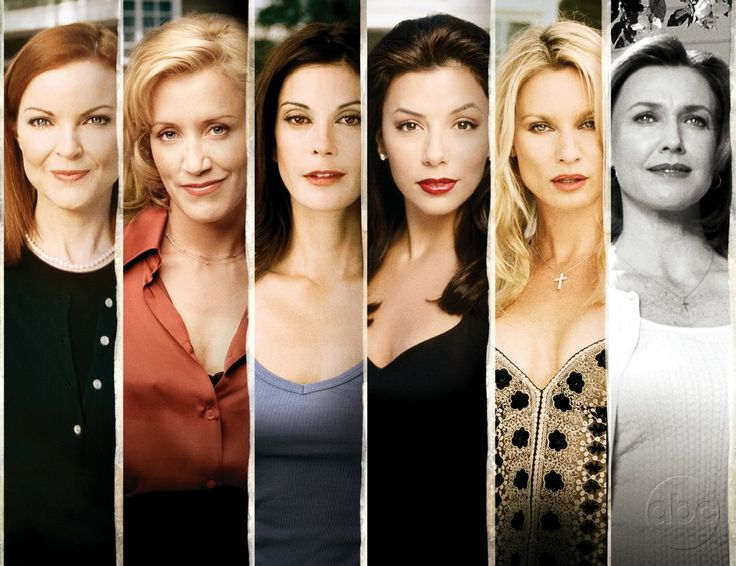 Desperate Housewives. I swear we are all friends! Ha...I love this show!