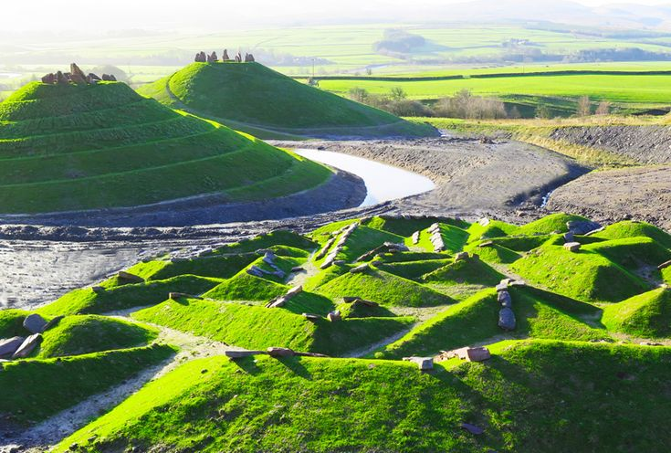 A Former Coal Mine Has Been Transformed Into An Artistic Landscape