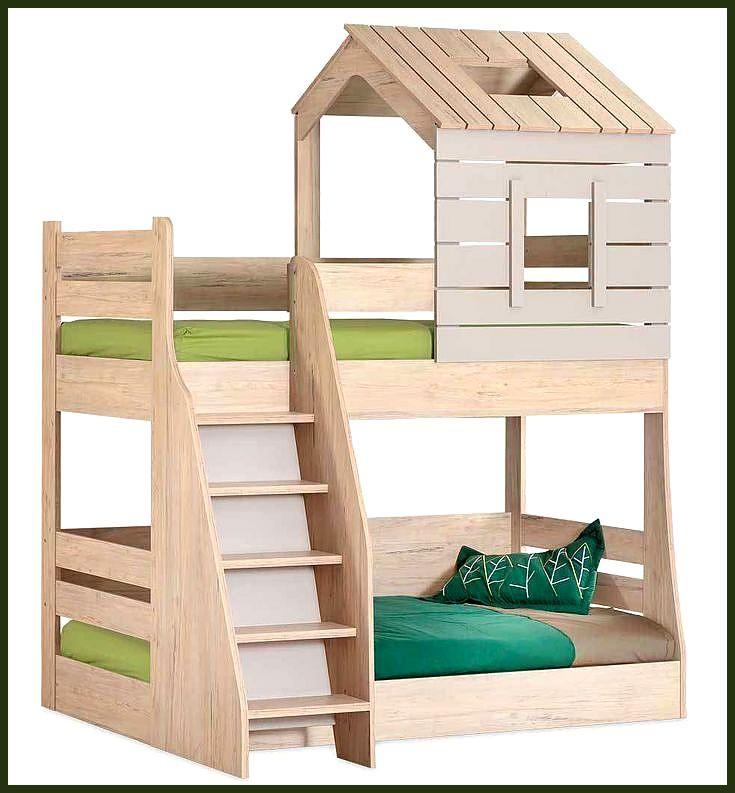Hochbett Kinder Forester S Hut 90 200 100 200 Hauschen