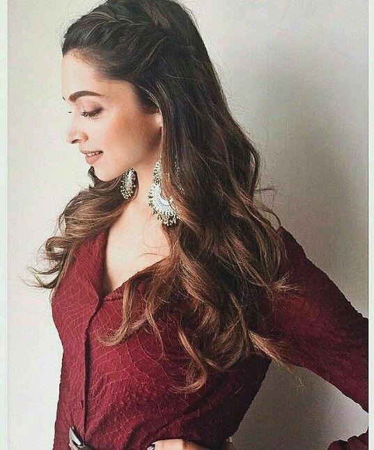 Deepika Padukone - hair