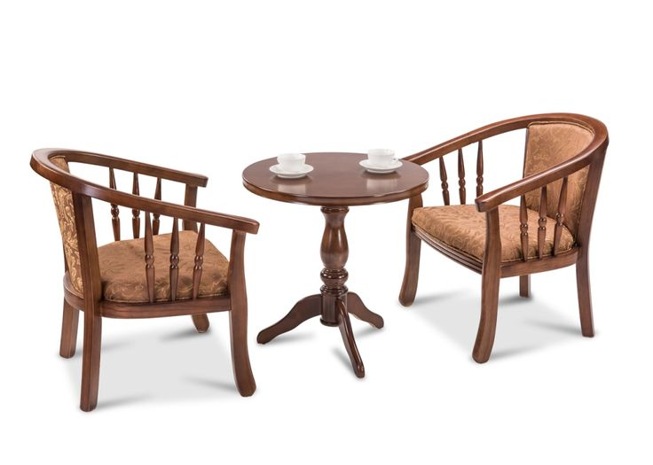 The Brighton Solid Wood Coffee Table Set From Durian Coffee Set Is An Ode To Post