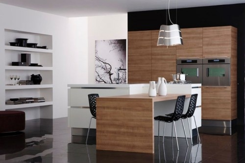 25 Gorgeous Contemporary Kitchen Designs by Veneta Cucine